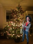 noa speelt kerstmuziek
